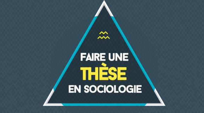 CR Journée «Faire une thèse en sociologie»